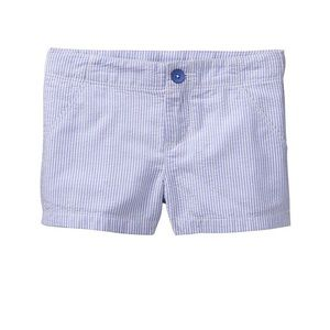 Gymboree blue pinstripes Seersucker Shorts